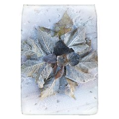 Winter Frost Ice Sheet Leaves Flap Covers (l)
