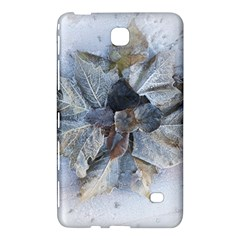 Winter Frost Ice Sheet Leaves Samsung Galaxy Tab 4 (7 ) Hardshell Case