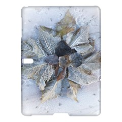 Winter Frost Ice Sheet Leaves Samsung Galaxy Tab S (10 5 ) Hardshell Case