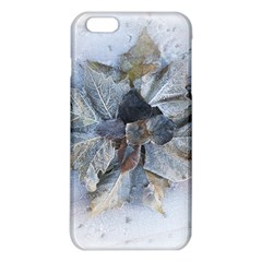 Winter Frost Ice Sheet Leaves Iphone 6 Plus/6s Plus Tpu Case