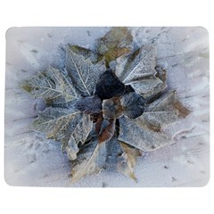 Winter Frost Ice Sheet Leaves Jigsaw Puzzle Photo Stand (rectangular)