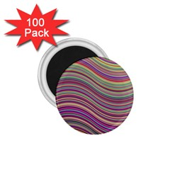 Wave Abstract Happy Background 1 75  Magnets (100 Pack)