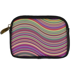 Wave Abstract Happy Background Digital Camera Cases