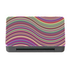 Wave Abstract Happy Background Memory Card Reader With Cf