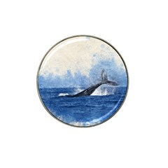 Whale Watercolor Sea Hat Clip Ball Marker (10 Pack)