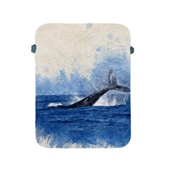 Whale Watercolor Sea Apple Ipad 2/3/4 Protective Soft Cases
