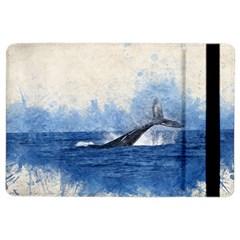 Whale Watercolor Sea Ipad Air 2 Flip