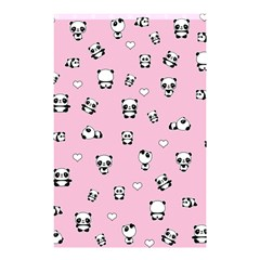 Panda Pattern Shower Curtain 48  X 72  (small)