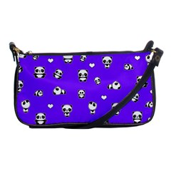 Panda Pattern Shoulder Clutch Bags