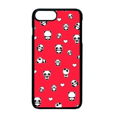 Panda Pattern Apple Iphone 7 Plus Seamless Case (black)