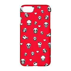 Panda Pattern Apple Iphone 8 Hardshell Case