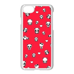 Panda Pattern Apple Iphone 8 Seamless Case (white)