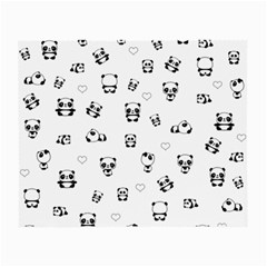 Panda Pattern Small Glasses Cloth