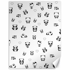 Panda Pattern Canvas 18  X 24