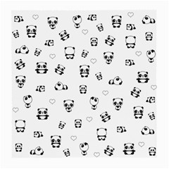 Panda Pattern Medium Glasses Cloth (2 Side)