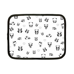 Panda Pattern Netbook Case (small)