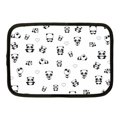 Panda Pattern Netbook Case (medium)