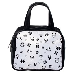 Panda Pattern Classic Handbags (one Side)