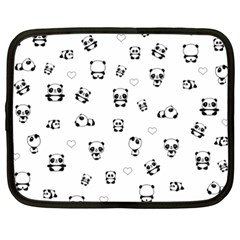 Panda Pattern Netbook Case (xxl)