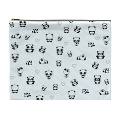 Panda Pattern Cosmetic Bag (xl)