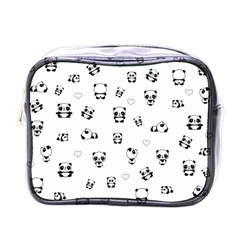 Panda Pattern Mini Toiletries Bags