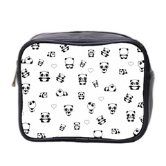 Panda Pattern Mini Toiletries Bag 2 Side