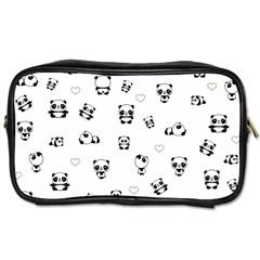 Panda Pattern Toiletries Bags