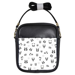 Panda Pattern Girls Sling Bags