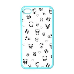 Panda Pattern Apple Iphone 4 Case (color)
