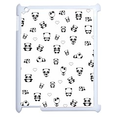 Panda Pattern Apple Ipad 2 Case (white)