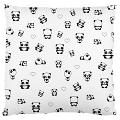 Panda Pattern Large Cushion Case (two Sides)