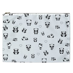 Panda Pattern Cosmetic Bag (xxl)
