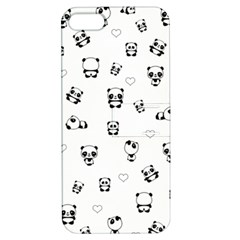 Panda Pattern Apple Iphone 5 Hardshell Case With Stand