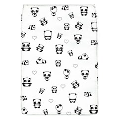 Panda Pattern Flap Covers (l)