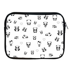 Panda Pattern Apple Ipad 2/3/4 Zipper Cases