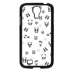Panda Pattern Samsung Galaxy S4 I9500/ I9505 Case (black)