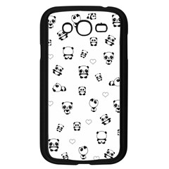 Panda Pattern Samsung Galaxy Grand Duos I9082 Case (black)