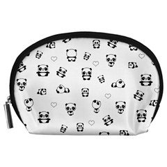 Panda Pattern Accessory Pouches (large)