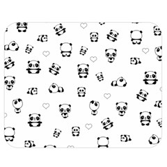 Panda Pattern Double Sided Flano Blanket (medium)