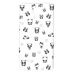 Panda Pattern Galaxy Note 4 Back Case