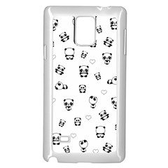 Panda Pattern Samsung Galaxy Note 4 Case (white)