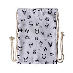 Panda Pattern Drawstring Bag (small)