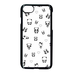 Panda Pattern Apple Iphone 7 Seamless Case (black)