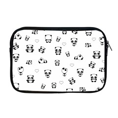 Panda Pattern Apple Macbook Pro 17  Zipper Case