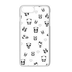 Panda Pattern Apple Iphone 8 Plus Seamless Case (white)