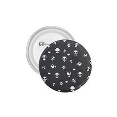 Panda Pattern 1 75  Buttons