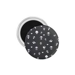 Panda Pattern 1 75  Magnets