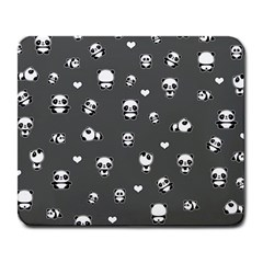 Panda Pattern Large Mousepads