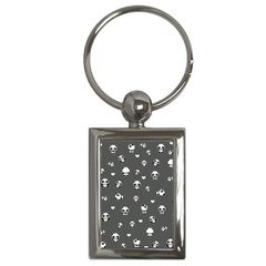 Panda Pattern Key Chains (rectangle)