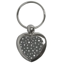 Panda Pattern Key Chains (heart)